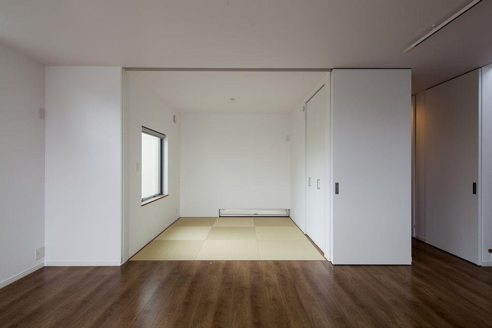 書斎事例:和室(太陽と暮らす邸)