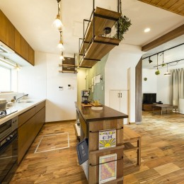 岐阜市W様邸 | cozy house (キッチン)