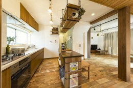 岐阜市W様邸~cozy house~ (キッチン)