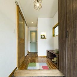 岐阜市W様邸 | cozy house (玄関)