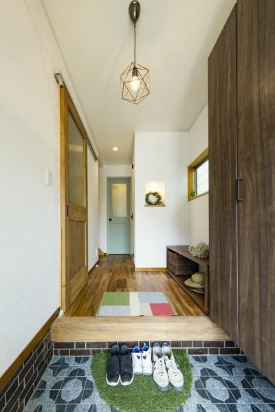岐阜市W様邸~cozy house~ (玄関)