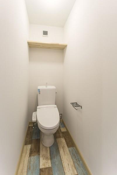 トイレ (岐阜市O様邸~BRAND NEW DAY~)