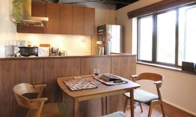 ダイニングキッチン|吉祥寺 戸建てリノベーション