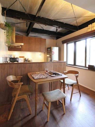 ダイニングキッチン (吉祥寺 戸建てリノベーション)