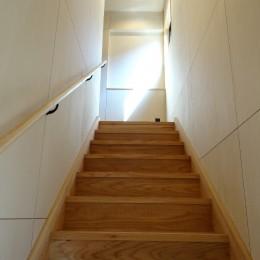 階段室 (犬と暮らす家―人とワンコが共に快適に暮らせる家―)