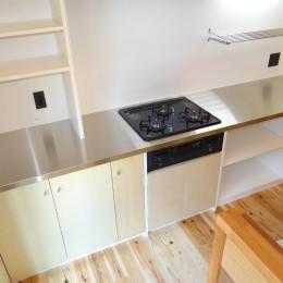 犬と暮らす家―人とワンコが共に快適に暮らせる家― (キッチン)
