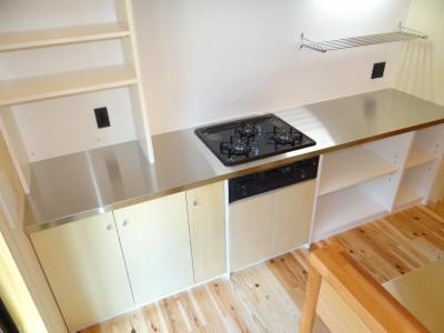 キッチン (犬と暮らす家―人とワンコが共に快適に暮らせる家―)
