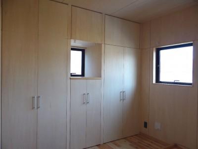 寝室 (犬と暮らす家―人とワンコが共に快適に暮らせる家―)