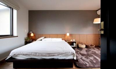 ベッドルーム|吉祥寺 戸建てリノベーション