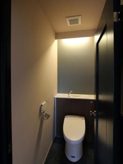 トイレ (吉祥寺 戸建てリノベーション)