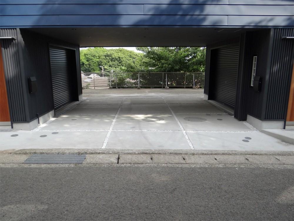コアジロハウス 住戸A―眺望を最大限に生かした共同住宅ー (ピロティ)