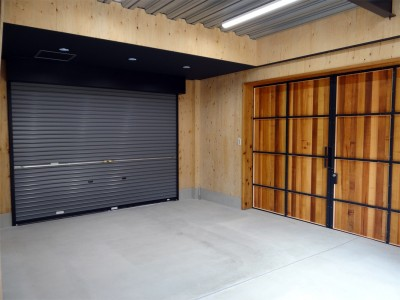 専用倉庫 (コアジロハウス 住戸A―眺望を最大限に生かした共同住宅ー)