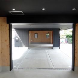 コアジロハウス 住戸A―眺望を最大限に生かした共同住宅ー (専用倉庫)