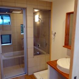 コアジロハウス 住戸A―眺望を最大限に生かした共同住宅ー (浴室)