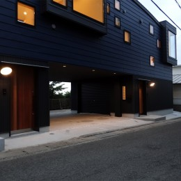 コアジロハウス 住戸B ―眺望を最大限に生かした共同住宅ー