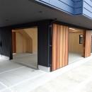 桑島建築事務所の住宅事例「コアジロハウス 住戸B ―眺望を最大限に生かした共同住宅ー」