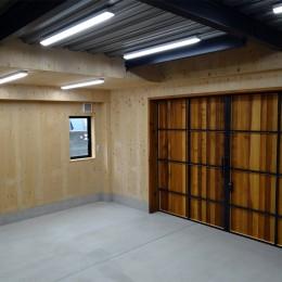 コアジロハウス 住戸B ―眺望を最大限に生かした共同住宅ー (専用倉庫)