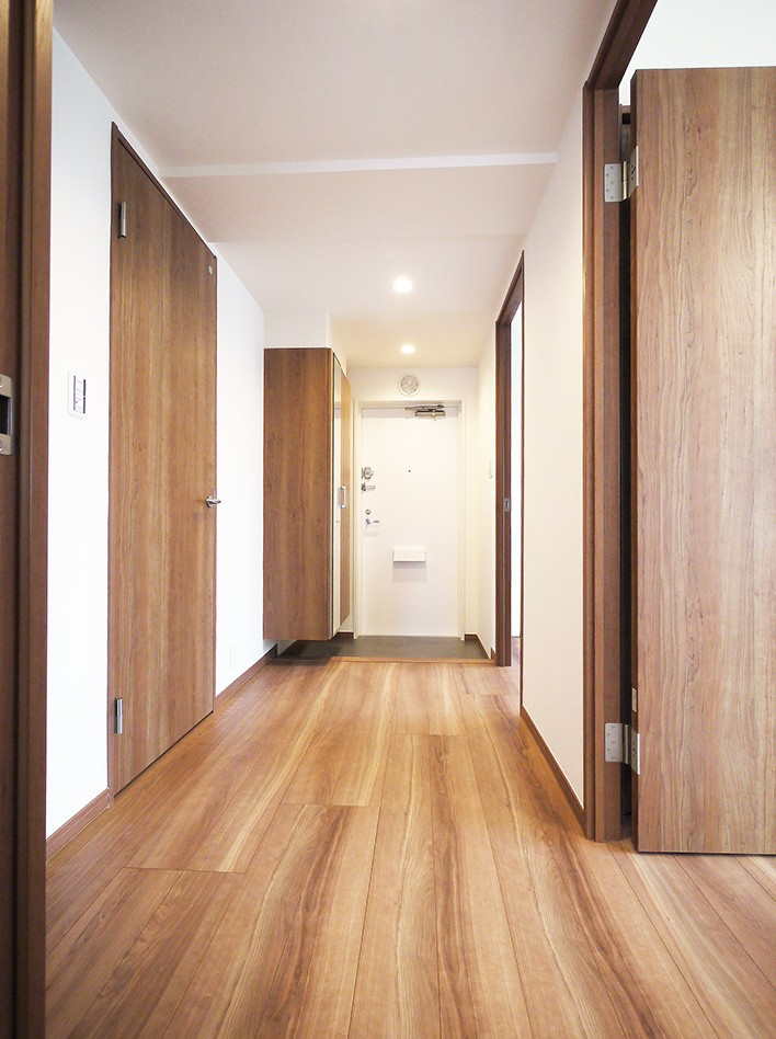 スマート収納リフォーム (玄関・廊下)
