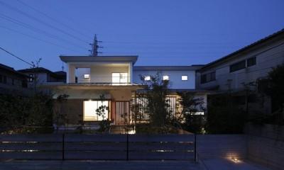 夕日の家 (外観)