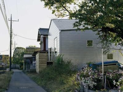 ワンルームの家 (外観)
