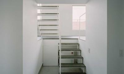 階段 ワンルームの家