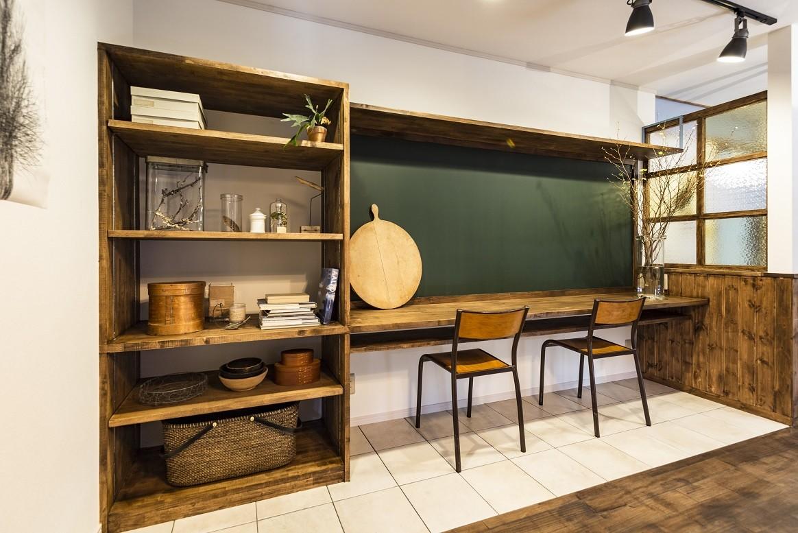 リノベーション・リフォーム会社:マルホデザイン一級建築士事務所「岐阜市K様邸~懐かしくて、どこか新しい昔の木造校舎のような家~」