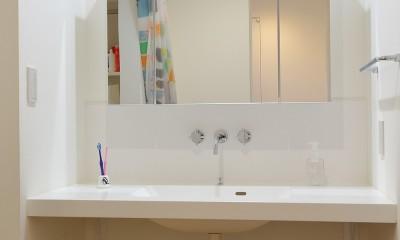 シンプルな水回り|普通が気持ちいい。すっきりと清潔感のある住まい