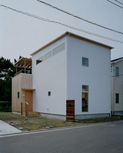 外観 (高浜台の家)