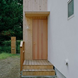 高浜台の家 (玄関扉)