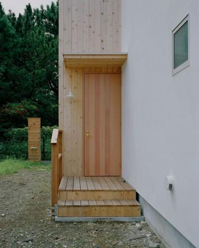 玄関扉 (高浜台の家)