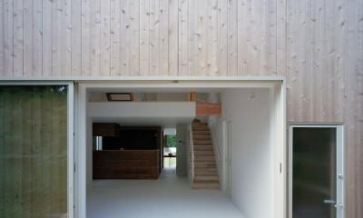 高浜台の家 (ウッドデッキ)