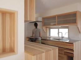 木づくりの家 (キッチン)