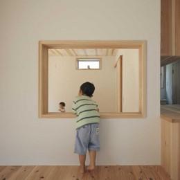 木づくりの家 (主寝室)