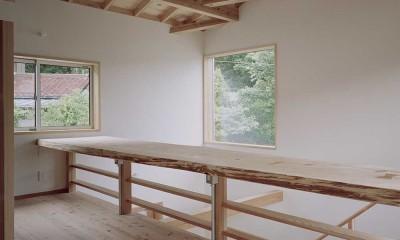 木づくりの家 (廊下)