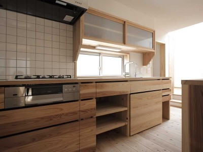 キッチン (木づくりの家)
