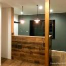 OHESOGARAGEの住宅事例「【 カフェのように寛げる趣味と理想の住まい 】―  座間市 O様邸~木造在来工法 中古一軒家の屋内フルリノベーション  ―」