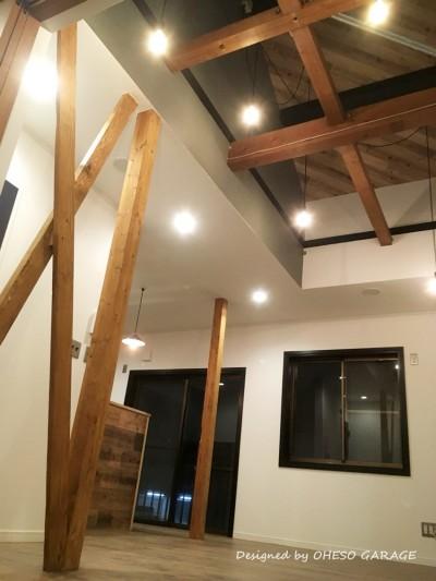 LDLスペース (【 カフェのように寛げる趣味と理想の住まい 】―  座間市 O様邸~木造在来工法 中古一軒家の屋内フルリノベーション  ―)