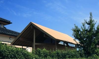 半原の倉庫 (屋根)