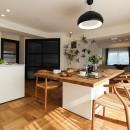 住工房の住宅事例「ライフスタイルに合わせた上質な住まい~暮らしにこだわったマンションリノベ~」