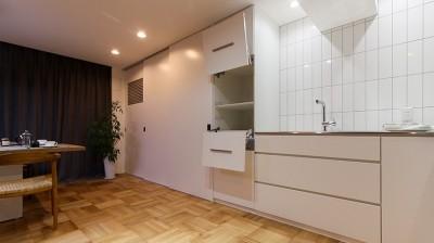 憧れのオーダーキッチン (ライフスタイルに合わせた上質な住まい~暮らしにこだわったマンションリノベ~)