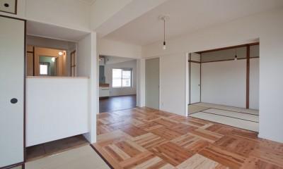 高倉台団地の暮しのハコ301|神戸市須磨区の団地DIYリノベーション