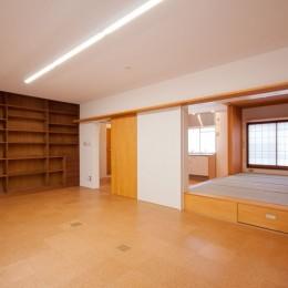 竹の台団地のアトリエ|京都府長岡京市の団地リノベーション。暮らしとしごとが同居する住宅とアトリエ