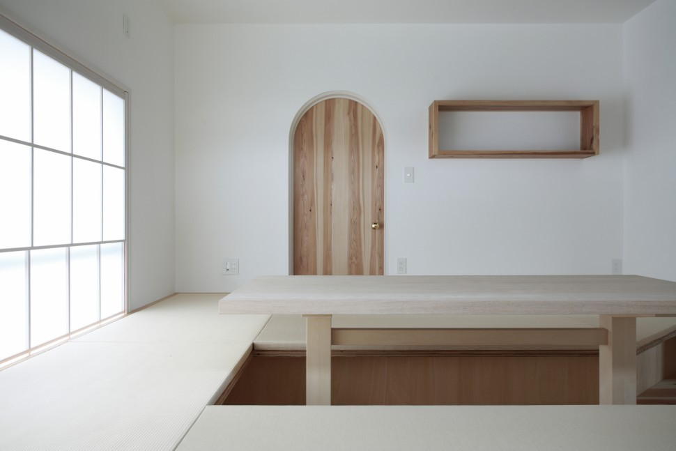 愛川の家 (リビング)