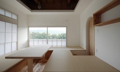 愛川の家 (ダイニング)