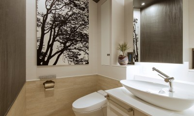 I6-house「木漏れ日のある家」 (トイレ)
