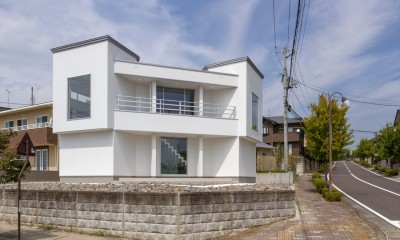 外観|眺望を楽しみ穏やかに暮らす家