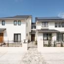 東急ホームズのまるごとリフォームの住宅事例「「ちょうどいい距離感」の分離型二世帯住宅へまるごと再生」