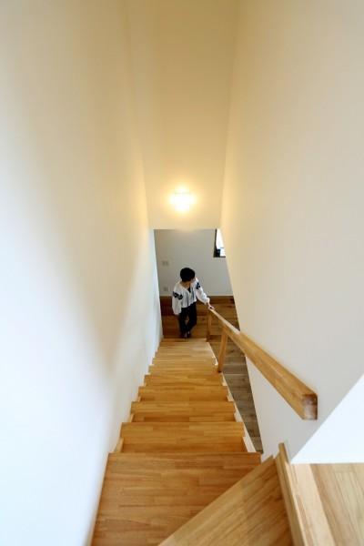 階段 (大きな屋根の家)