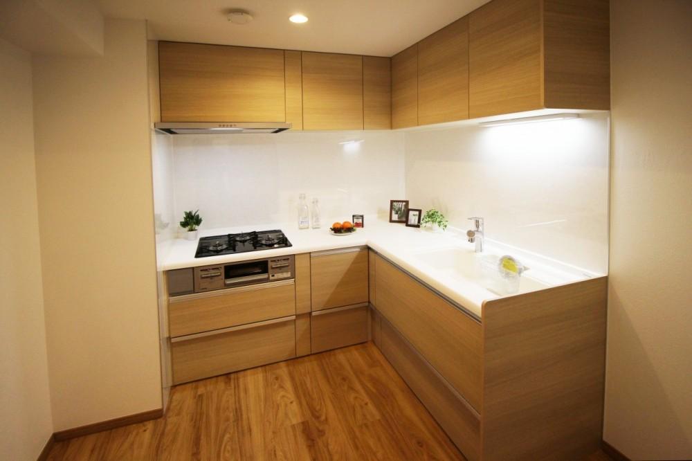 七宝リノベーションマンション (システムキッチン)