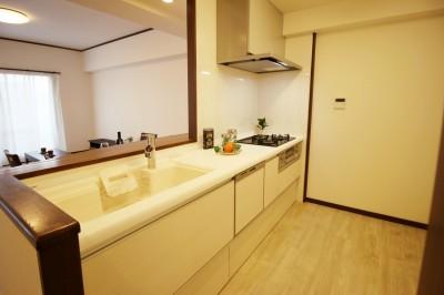 緑区水広リノベーションマンション (キッチン)